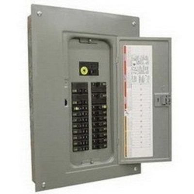 Square D by Schneider Electric QO1DM10020TRBR Schneider Electric / Square D QO1DM10020TRBR QO™ Generator Panel; 100/20 Amp, 120/240 Volt AC, 1 Phase, 8-2 AWG