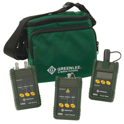 Tempo Communications 5890-SC Greenlee 5890-SC Multimode and Singlemode Test Set; SC Interface