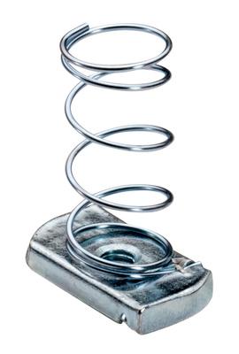 Topaz Electrical Fittings 2111 2111 TOPAZ 1/4/2020 ZINC SPRING NUT