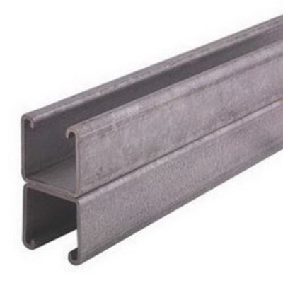 Unistrut P1001-10PG Unistrut P1001-10PG Back To Back Channel; 12 Gauge, 10 ft x 1-5/8 Inch x 1-5/8 Inch, Steel, Perma-Green® III