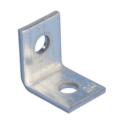 nVent ERICO AB Erico AB Caddy Angle Bracket with 1/4 In Hole