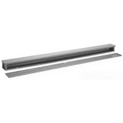 nVent HOFFMAN A6648RT Hoffman A6648RT Wiring Trough; 48 Inch x 6 Inch x 6 Inch, 16 Gauge Plated Steel, ANSI 61 Gray