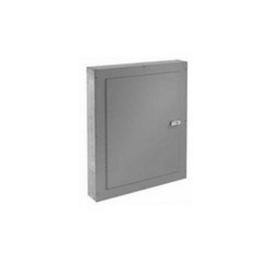nVent HOFFMAN ATC12126S Hoffman Pentair ATC12126S Telephone Cabinet; 12 Inch Width x 6 Inch Depth x 12 Inch Height, Surface Mount, 16/14/12/11 Gauge G90 Galvanized Steel, ANSI 61 Gray