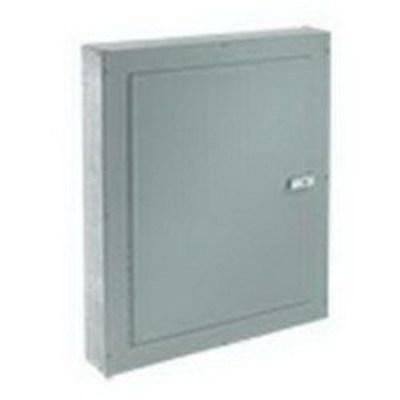 nVent HOFFMAN ATC24186F Hoffman ATC24186F Telephone Cabinet; NEMA 1, Flush, 18 Inch x 6 Inch x 24 Inch, 16/14/12 Gauge Galvanized Steel Body, Mild Steel Door, ANSI 61 Gray, Polyester Powder Paint on Front