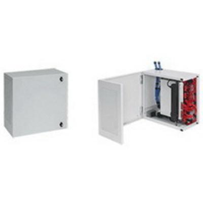 nVent HOFFMAN DBL362412G Hoffman DBL362412G L-BOX® Wall-Mount Cabinet; 915 mm x 610 mm x 313 mm, 14 Gauge Mild Steel