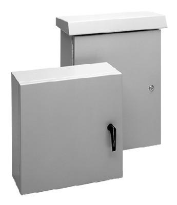 nVent HOFFMAN ECL1209030CH Hoffman ECL1209030CH Comline™ Enclosure; Wall Mount, Type 5052-H32 Aluminum, RAL 7035 Light Gray