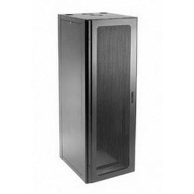 nVent HOFFMAN NCW2178 Hoffman NCW2178 Net Series Window Door Communication Cabinet; 43-Rack Unit, RAL 9005 Black