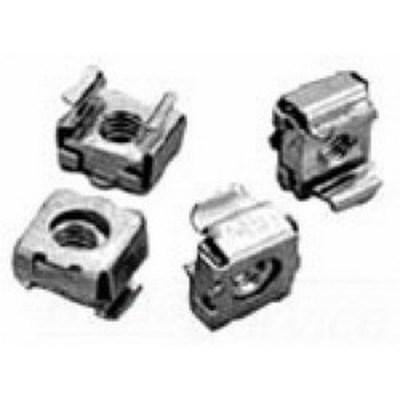 nVent HOFFMAN P1224CN250 Hoffman P1224CN250 Proline™ Cage Nut; Silver, 250/Pack